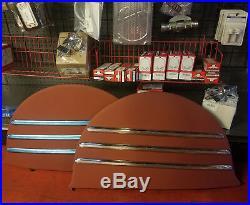 1941-48 Chevy Fleetline Fender Skirt TRIM Lowrider Bomb hot rod rat custom vtg