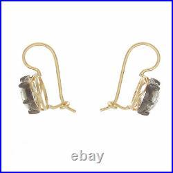 2.00ct ttw Old European Cut Antique Style Diamond Earrings