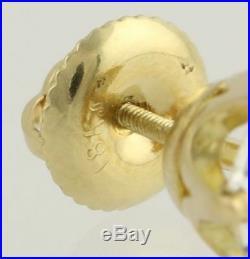 2.85ctw Old European Cut Diamond Earrings 18k Yellow Gold Vintage-Style EGLUSA