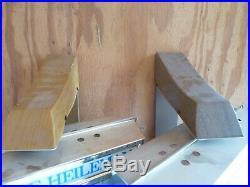 2 Vtg OLD STYLE BEER SIGN Motion ROTATING LIGHT VINTAGE WALL LAMP HF6