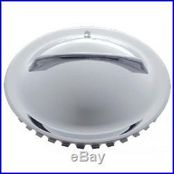 4 15 Single Bar Flipper Hubcaps Hot Rod Rat Custom Lowrider Bomb Vtg Old Style
