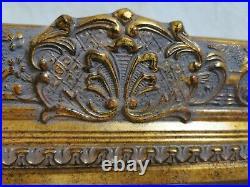 5 Wide Baroque Ornate Vtg Style Gold Gilt Frame 10 x 8. Old Masters Look