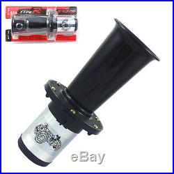 Ahooga Antique Vintage Style 12 Volt Old Fashion Car Horn Hot Rod Klaxon Black