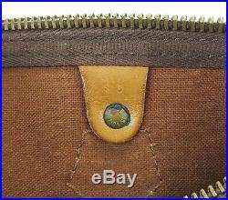 Auth VTG LOUIS VUITTON Speedy 30 Monogram Boston Handbag Purse Old Style #35900