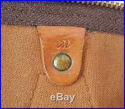 Auth VTG LOUIS VUITTON Speedy 40 Monogram Boston Hand Bag Purse Old Style #35073