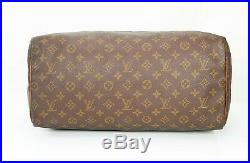 Auth VTG LOUIS VUITTON Speedy 40 Monogram Boston Hand Bag Purse old Style #34873