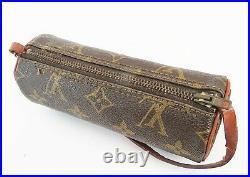 Auth Vintage LOUIS VUITTON Monogram Mini Pochette for Papillon Old Style #38898