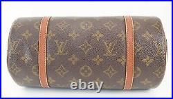 Auth Vintage LOUIS VUITTON Papillon 26 Monogram Hand Bag Purse Old Style #38909