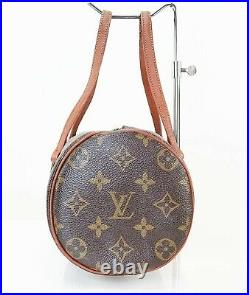 Auth Vintage LOUIS VUITTON Papillon 26 Monogram Hand Bag Purse Old Style #39789