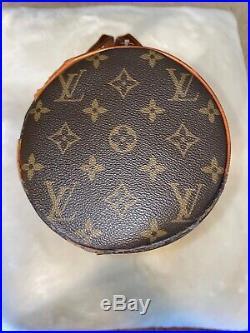 Auth Vintage LOUIS VUITTON Papillon Monogram Hand Bag Purse Old Style 12
