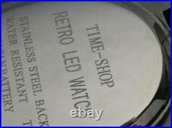 BLACK X-MEN APOCALYPSE 70s Old Vintage Style LED DIGITAL Rare Retro Mens Watch