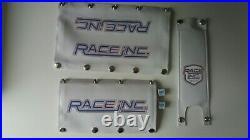 BMX old school vintage style pad set. + Valve Dice REPOP RACE INC