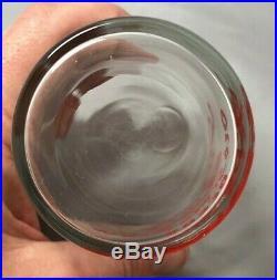 C 1940 JORDAN Minnesota OLD STYLE BREW BEER Horseshoe GLASS Original VINTAGE