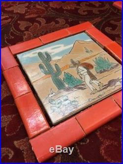 D&M Tile Batchelder Malibu Catalina Style Era Rare 9-1/4 Antique Old Vintage