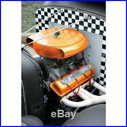 Deluxe Retro Style Caddy Olds Steel Air Cleaner with Filter & Hardware Vintage