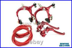 Dia-Compe MX883 MX128 Red Brake Set Old Vintage School BMX Style Brakes