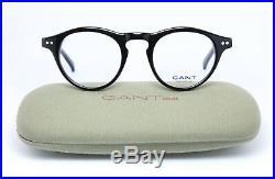 GANT TUPPER BLK Panto Vintage Old Style Eyeglasses Frame Glasses Gafas Black