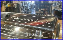 IN STOCK Billet Specialties SBC VALVE COVERS Chevrolet Script Hot Rod Muscle Car