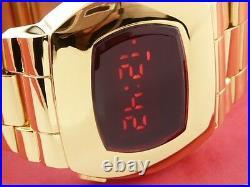 JAMES BOND 70s 1970s Old Vintage Style LED LCD DIGITAL Rare Retro watch P2 PSR g