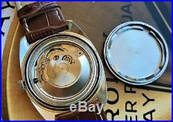 KIENZLE SWISS AUTOMATIC cal ETA 2472 OVERSIZE DIVER style WATCH Vintage OLD