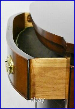KITTINGER Old Dominion Mahogany Hull Federal Style Bowfront Sideboard Inlays