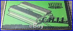 NEW Old School Bazooka Amp Style Chil Pack, RARE, Vintage, NOS, NIB