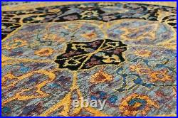 New Medallion 8'x10' ft Hand Knotted Persian Antique Old Style Silk & Area Rugs