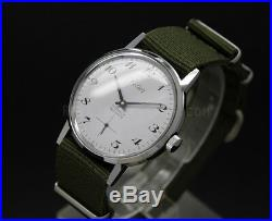New Old Stock CELIER Army Movement Unitas 6376 vintage watch NOS militare style