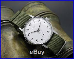 New Old Stock CELIER Army Movement Unitas 6376 vintage watch NOS military style