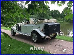 Occasion Hire Beauford Car, vintage classic date night, old bentley-style, London