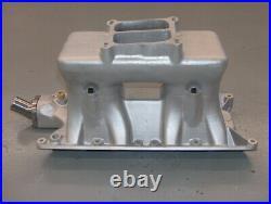 Offenhauser 302 SB Ford 1x4 Single Quad Tunnel Ram Intake Manifold withPlenum 5914