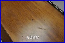 Old Colony 2 Tier Walnut Empire Regency Style Serving Table End Side Table