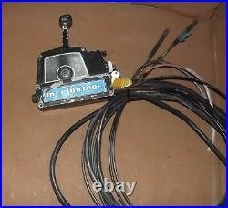 Old Style Vintage Mercury Control Box 45958A5 and 13 ft cables 7 pin side plug