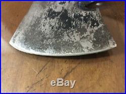 Old Vintage Western USA Black Beauty Boulder Colo Knife Hatchet Axe F39 Style