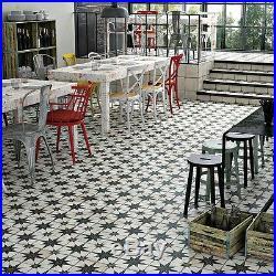Old World Vintage Style Ceramic Floor & Wall Tiles 5 tiles, 11.1 SF Per Case