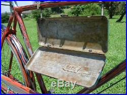 Old custom hand painted bike antique vintage bicycle rat rod style 28 unique
