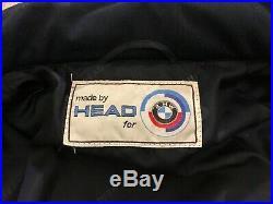 Original BMW HEAD Motorsport Jacke Oldtimer 70er M Style Vintage Blouson Biker