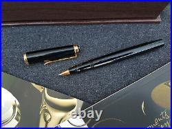 PELIKAN R400 Souverän Tintenroller Old Style schwarz in Geschenkbox Vintage