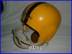 PITTSBURGH STEELERS Old School SUSPENSION Vintage Style Football Helmet 1950-60s