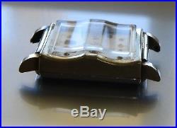 RARE! OLD Gruen Tank Style FANCY Art Deco Men's Vintage Watch 15 j WORKS