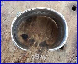 RARE Vintage JOCK FAVOUR Old Style Turquoise Ingot Silver Bracelet