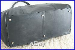 Rarität vintage 80s BMW style M3 M5 Reisetasche oldtimer Nappa Leder leather bag