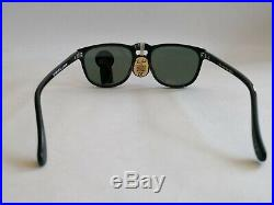 Ray Ban W0934 Vintage B&L Gatsby Style 2 48 mm Black NEW OLD STOCK VTG Very Rare