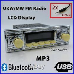 Retrosound Hermosa Komplettset Ivory Oldtimer Radio MP3 Bluetooth 308309IV080068