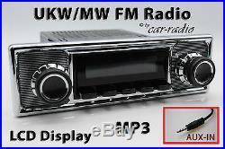 Retrosound Laguna Komplettset Becker Oldtimer Radio MP3 AUX-IN L308509B078039