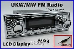Retrosound Laguna Komplettset Chrome Oldtimer Radio MP3 AUX-IN L308309C078008