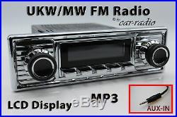 Retrosound Laguna Komplettset Chrome Oldtimer Radio MP3 AUX-IN L308309C078039