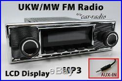 Retrosound Laguna Komplettset Mexico Oldtimer Radio MP3 AUX-IN L308509B0711039