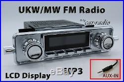 Retrosound Laguna Komplettset VW Käfer Retro Oldtimer Radio MP3 AUX L304C078008
