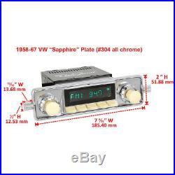 Retrosound Laguna Komplettset VW Käfer Retro Oldtimer Radio MP3 AUX L304C078039